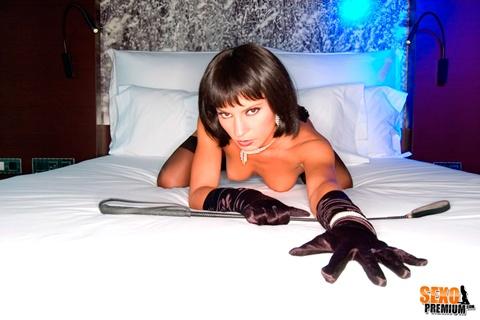 Lucy Belle: Erótica y sensual